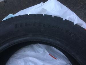 À vendre 4 pneus hiver 1 saison usure 205/55R16 BF Goodrich
