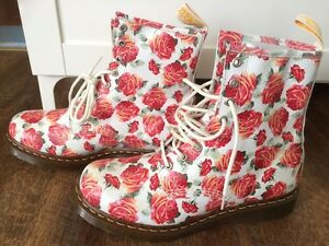 "Limited edition ""Valentine Rose"" Doc Martens London Ontario image 1"