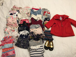 *Sold PPU Baby girl clothes size 3-6 months