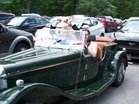 1937 JAGUAR SS100 KIT CAT ALL FIBERGLASS