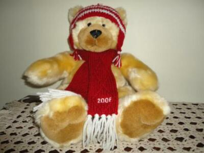 Dillards Inc 2006 Annual Department Store Holiday Christmas Bear 15 Inch