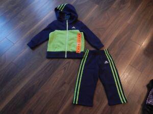 Adidas *Never Worn*  Boys Size 2T Sweatsuit