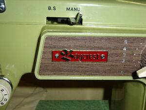 $150 · Bay Crest sewing machine with case in very good shape Regina Regina Area image 4