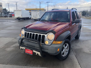 2006 Jeep Liberty, 4X4, Automatic,Low km, 3/Y warranty available
