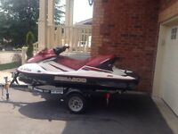 2003 Seadoo GTX DI 3 Seater with Reverse. New Engine
