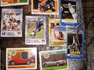 1990's WRESTLING plus OTHER SPORTS CARDS, 25 cards for $10 Prince George British Columbia image 6