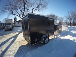 2013 United 6x10 2ft vnose trailer