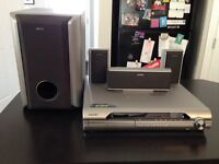 Sony 5 disk surround sound stereo