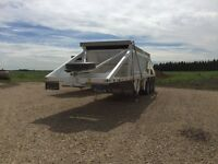 Trailer rental end dump belly dump flat decks reefers dry van