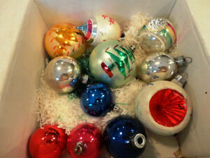 Old Vintage 70's Christmas Tree Ornaments -All 11 for $28.00 Kitchener / Waterloo Kitchener Area image 1
