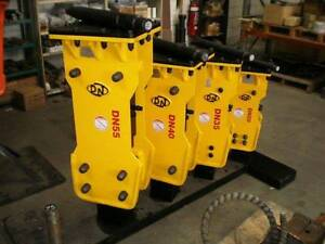 Korean Hydraulic Rock Breaker to suit up to 8.0-ton Excavators St Marys Penrith Area Preview