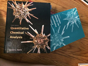 Quantitative chemical analysis 8th edition solutions manual