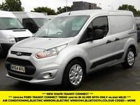 2014 FORD TRANSIT CONNECT 200/95 TREND SWB L1H1 IN SILVER WITH ONLY 46.000 MILES