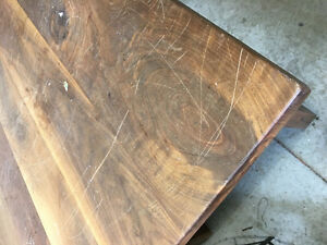 Solid Walnut Table Cambridge Kitchener Area image 3