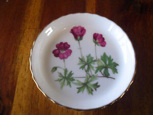 """2 Minton coasters/pin dishes """"Meadow"""" series"""