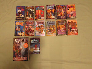 Full 14 Book Wheel of Time Collection by Robert Jordan