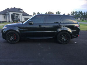 RARE 2017 Range Rover Sport HSE Dynamic Blacked Out Edition