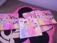 Disney Princess Canvas Set