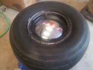 Harley golf cart rims and tires with moon caps