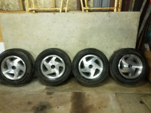 Goodyear weather handler tires and rims