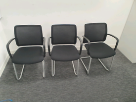 Cantilever Stacking Office Visitor Meeting Chairs