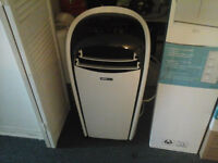 PORTABLE AIR CONDITIONER FOR SALE ALSO IS A FAN/DEHUMIDIFIER
