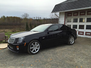 2005 Cadillac CTS-V sedan manual transmission