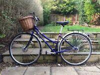 Ladies Rideback Metro Bike Blue