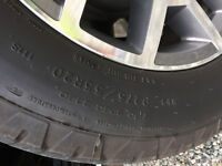 Near New GoodYear Wrangler Tires(4)