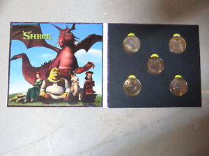 For Sale: Shrek Coin Set $10 London Ontario image 2