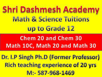 Math & Sci Coaching by Highly Experienced Professor (PhD) in NE