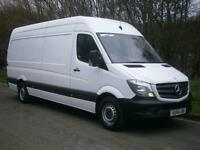 2014(14) Mercedes-Benz Sprinter 313CDI LWB, NEW SHAPE, 78000 4 metre FINANCE?