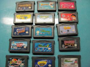Jeux pour DS Lite et Game Boy  Advance de Nintendo