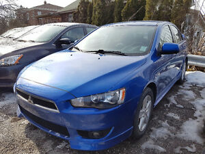 2009 MITSUBISHI LANCER LEATHER ALLOYS CERTIFIED & ETESTED