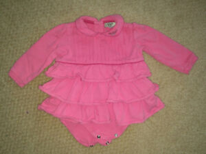 Armami Baby dress /onesie.  Size 9 month.