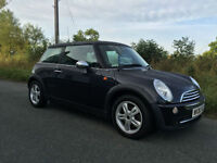 2006/06 MINI ONE IN BLACK 69000 MILES FSH FULL MOT FRESH SERVICE