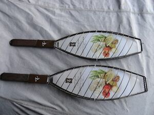 2 new fish cooking baskets