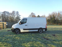 LHD LEFT HAND DRIVE Renault Master 2.3dCi MWB AIR CON 2013 ONLY 22,000KLM