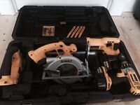Dewalt power tool set