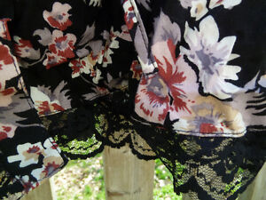 Flowered Dress with Lace Back London Ontario image 5