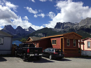 Beautiful mobile home in Canmore