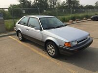 1988 Mazda 323 GTX AWD Turbo - RARE