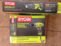 Ryobi electric tools
