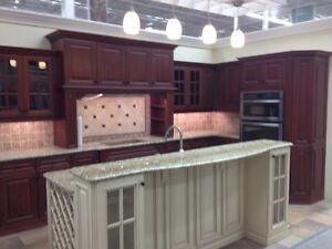 New Display Cupboards with Granite Counter Top