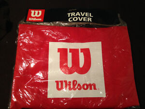 Wilson Brand New Red Travel Cover for Golf Clubs Bag.
