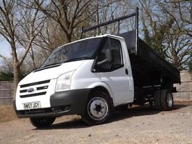 2008 FORD TRANSIT Tipper single cab. Lovely clean example