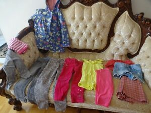Girls' summer clothing age 2-3 & 4-7 years