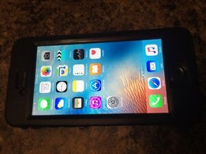iPhone 6 16gb with life proof nuud case