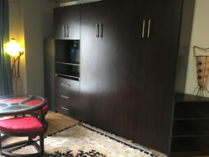 Furnished Studio Downtown Montreal- all included/tout inclus