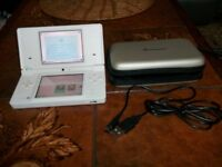 Nintendo DSi Comes with Power Cable and a very nice carry case,